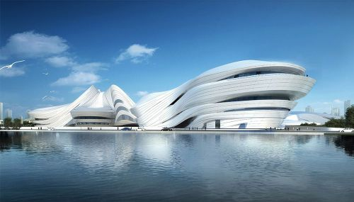 长沙梅溪湖国际文化艺术中心