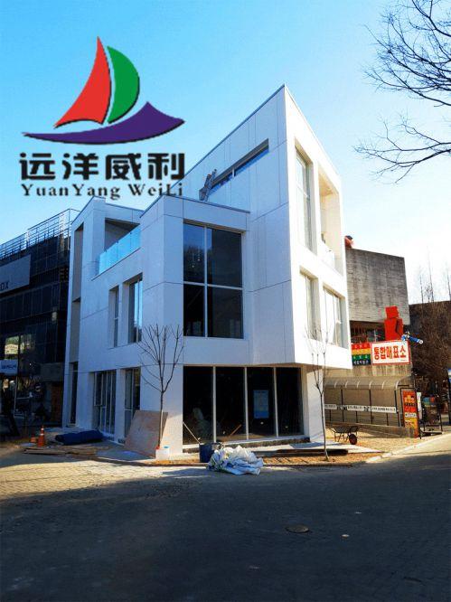 【案例分享】使用远洋球彩台无插件直播板材在韩国打造的网红房子案例赏析