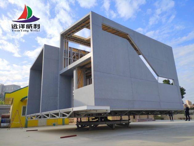 轻钢房屋旋转别墅国外项目